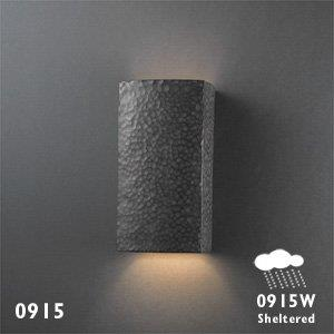 Ambiance - Small Rectangle - Open Top and Bottom Outdoor Wall Sconce