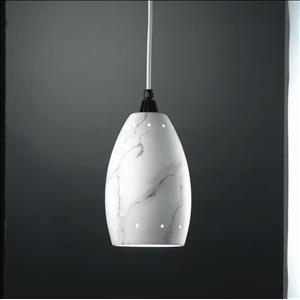 Radiance - Curve with Perfs Pendant