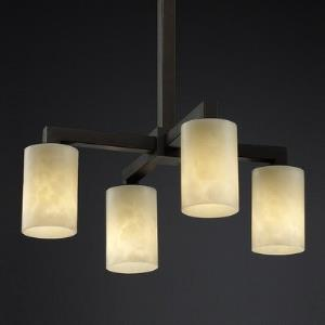 CandleAria - 4-Downlight Chandelier