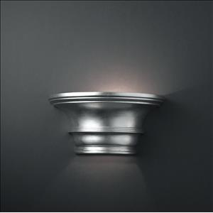 Ambiance - Curved Concave with Glass Shelf Wall Sconce