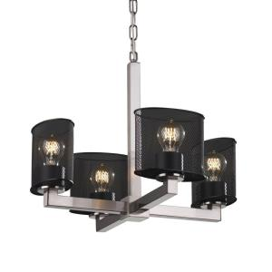 Wire Mesh - Four Light Modular Chandelier