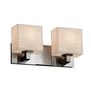 Porcelina - 15 Inch Two Light Bath Bar