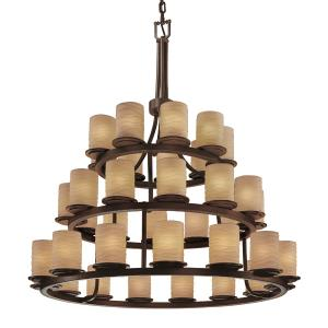 Dakota 36-Light 3-Tier Ring Chandelier