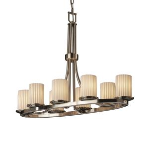 Limoges - Dakota 8-Light Oval Ring Chandelier