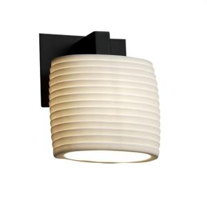 Limoges Modular - 1 Light ADA Wall Sconce with Sawtooth Oval Shade