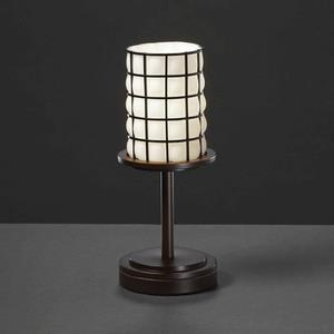 Wire Glass - Dakota 1-Light Short Table Lamp