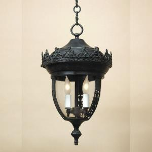 Three Light Large Outdoor Hanging Lantern
