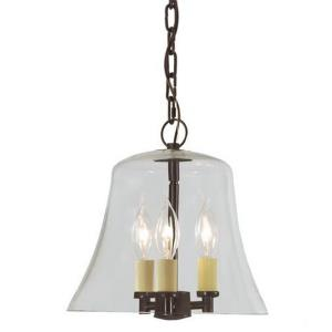 Greenwich - Three Light Hanging Bell Pendant