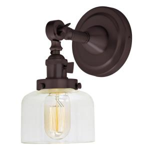 Soho - One Light Wall Sconce Oil Rubbed Bronze