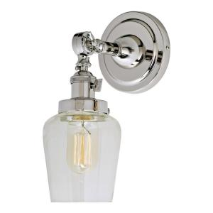 Soho - One Light Wall Sconce Polished Nickel
