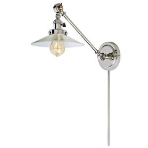"Soho - 19"" One Light Swing Arm Wall Sconce"