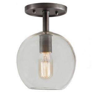"Grand Central - 10"" One Light Semi-Flush Mount"