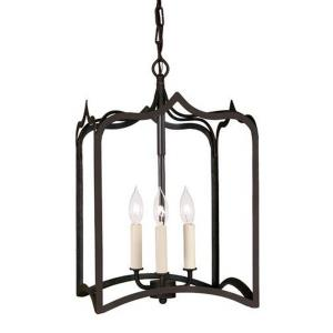 Three Light Medium Gothic Pendant