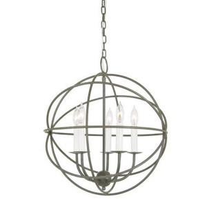 Five Light Globe Chandelier