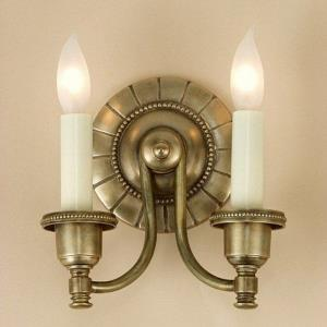 Two Light English Wall Sconce