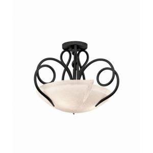 Tribecca - Three Light Semi-Flush Mount