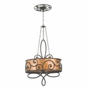 Windsor - Four Light Oval Chandelier