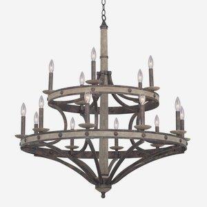 Coronado - Fifteen Light Round Chandelier