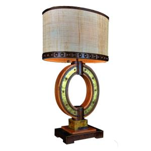 Aspen - Two Light Oval Table Lamp