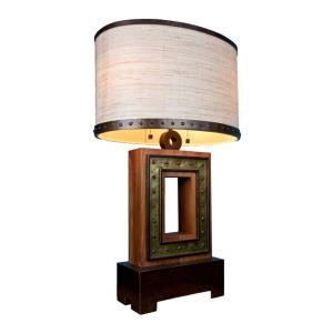 Aspen - Two Light Square Table Lamp