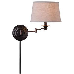 Riverside - One Light Wall Swing Arm Lamp