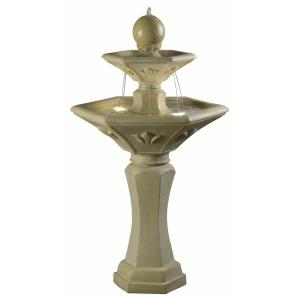 Provence - 44 Inch Outdoor Solar Fountain