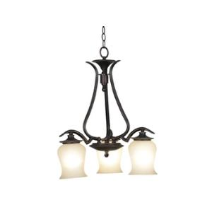 Bienville 3 Light Down Chandelier