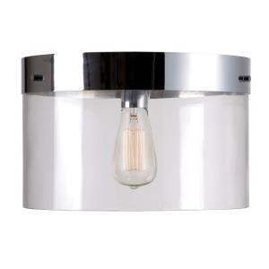 Capri - 1 Light Large Pan Flush Mount