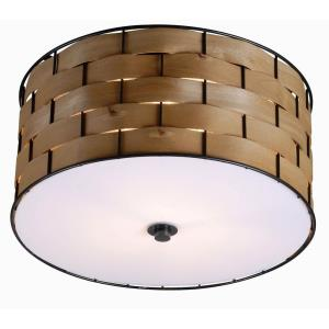 Shaker - Three Light Flush Mount