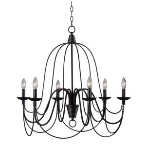 Pannier - Six Light Chandelier