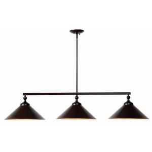 Conical - Three Light Pendant