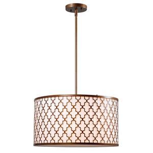 Tripoli - Three Light Pendant