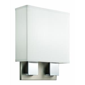 1 Light Wall Sconce - with Contemporary inspirations - 11 inches wide
