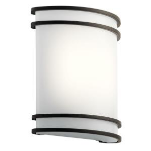 1 Light Wall Sconce - with Utilitarian inspirations - 10.75 inches tall by 9.5 inches wide