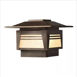 Zen Garden - Low Voltage One Light Deck Post Lamp