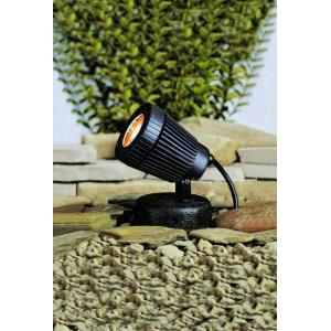 Low Voltage One Underwater Pond light - with inspirations - 5 inches tall by 4 inches wide