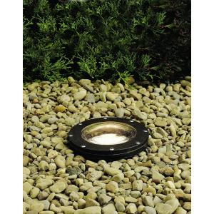 Low Voltage 1 light In Ground Lamp - with inspirations - 8.25 inches tall by 7 inches wide