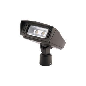 C-Series - 7 Inch 52W 3000K 1 LED Slip Fit-Mount Outdoor Medium Flood Light