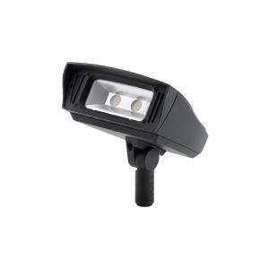 C-Series - 7 Inch 52W 4000K 1 LED Knuckle-Mount Outdoor Medium Flood Light