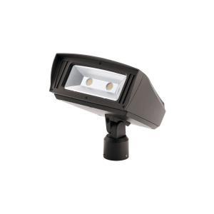 C-Series - 7 Inch 85W 3000K 1 LED Slip Fit-Mount Outdoor Large Flood Light