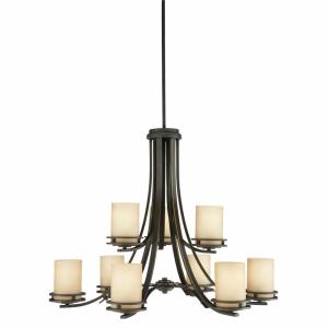 Hendrik - Nine Light Two Tier Chandelier