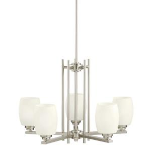 "Eileen - 24"" 50W 5 LED Chandelier"