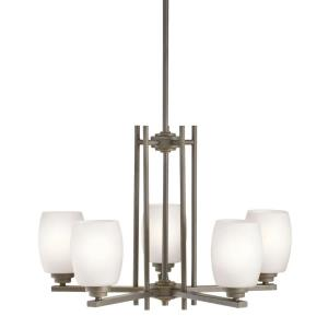 "Eileen - 24"" 45W 5 LED Medium Chandelier"