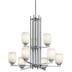 Eileen - Nine Light 2-Tier Chandelier