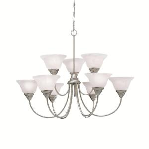 Telford - Nine Light Two Tier Chandelier