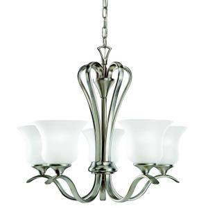 "Wedgeport - 23.5"" 45W 5 LED Chandelier"