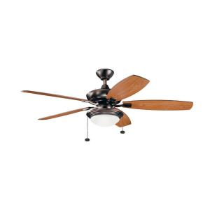 Canfield Select - 52 Inch Ceiling Fan with Light Kit