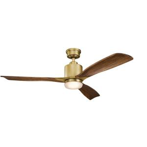 Ridley II - 52 Inch Ceiling Fan with Light Kit