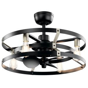 Cavelli - 13 Inch Ceiling Fan with Light Kit
