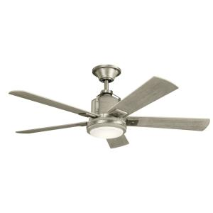 Colerne - Ceiling Fan with Light Kit - with Transitional inspirations - 17 inches tall by 52 inches wide